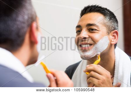 Man's Shaving