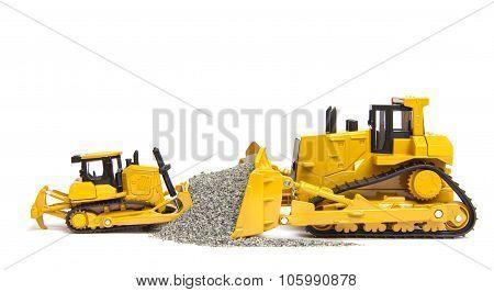 Toys Bulldozers