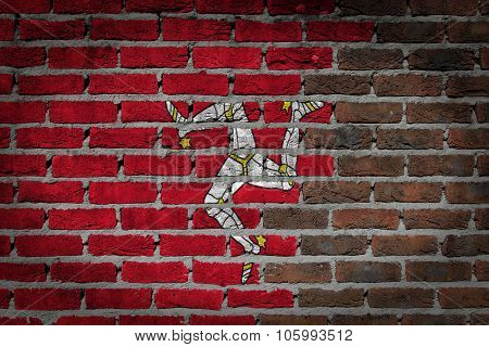 Dark Brick Wall - Isle Of Man