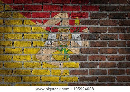 Dark Brick Wall - Sicily