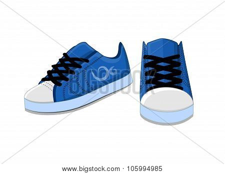 Bright Stylish Trendy Youth Shoes For Running And Exercise