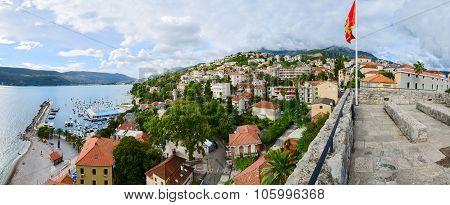Panoramic View Of Herceg Novi, Montenegro