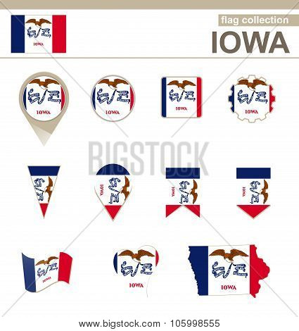 Iowa Flag Collection