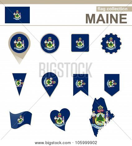 Maine Flag Collection