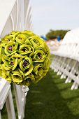 Wedding Seat Boquet