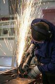 stock photo of tig  - welder  - JPG