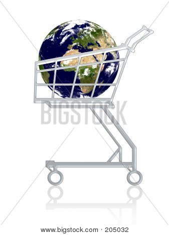 Earth In A Cart