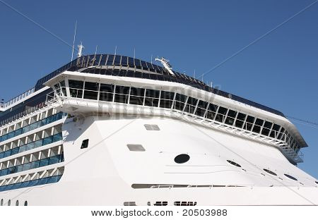 aft of cruise ship