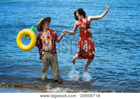 Hawaiian Tourists