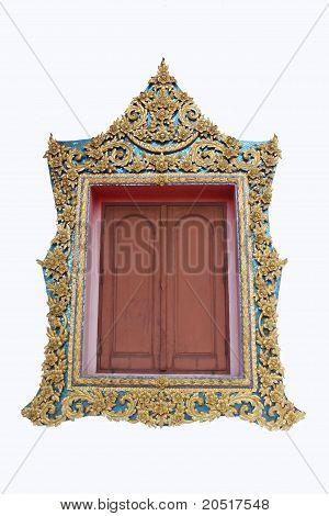 Window of ubosot