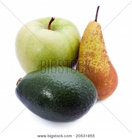 Apple, Avocado And Pear
