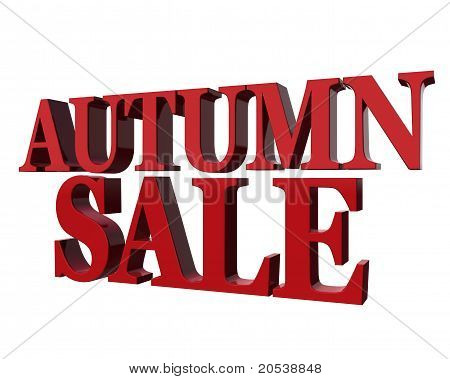 Autumn Sale.
