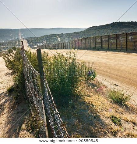 U.S. / Mexiko Border Zaun