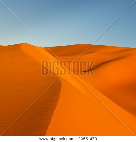 Sand Dunes In The Sahara Desert, Libya