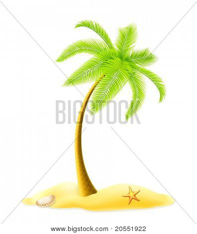 Palm tree, 10eps