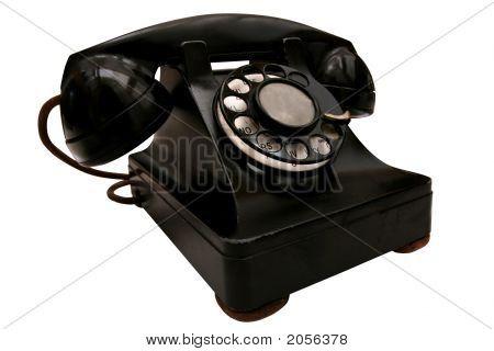 Beat-Up Retro Phone