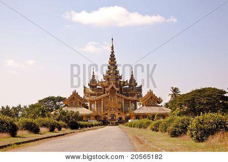 kanbawza thadi palace