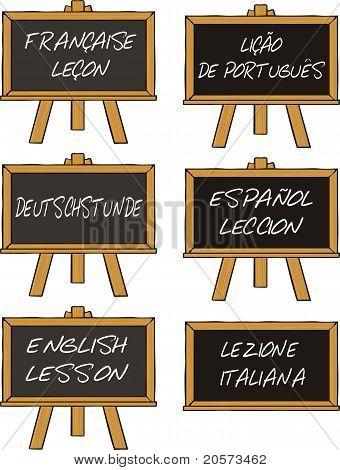 a language lesson