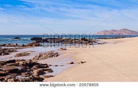 Rocky Coastline Of Cabo San Lucas, Mexico