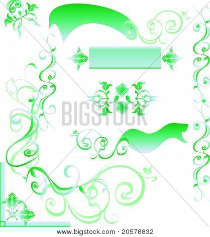 Beauty Abstract Design Element