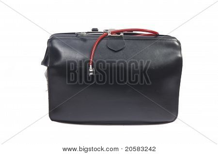 Doctor's Bag With Small Stethoscope