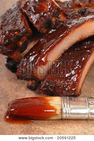 Delicious Bbq Ribs With Tangy Sauce