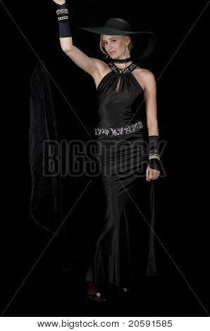 Striptease In Evening Wear