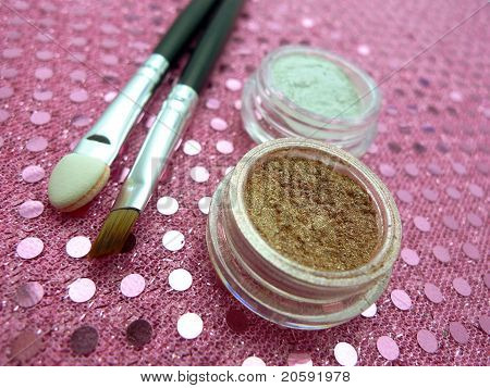 Mineral Cosmetics Display