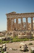 stock photo of akropolis  - The Parthenon in the Akropolis Athens  - JPG