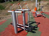Outdoor Gym Facility poster