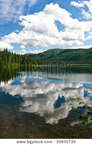 Mountain Landscape Reflections