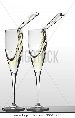 Two Glasses of Prosecco