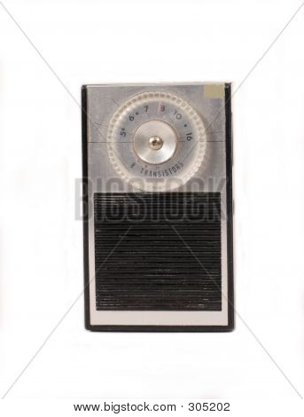 Retro Portable Transistor Radio