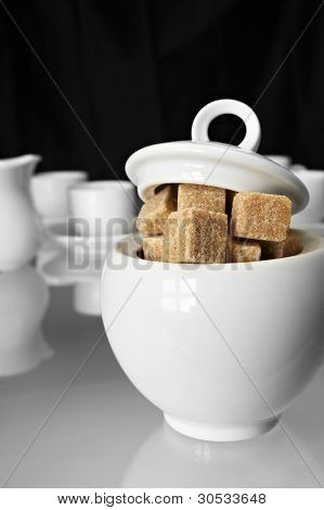 white sugarbowl