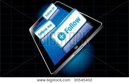 Tablet Follow