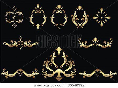Ethnic Calligraphic Design