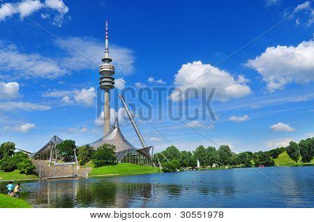 Olympiapark in München, Deutschland