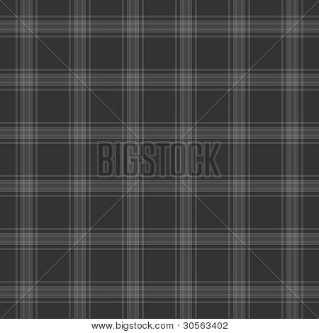 Seamless Grey Plaid