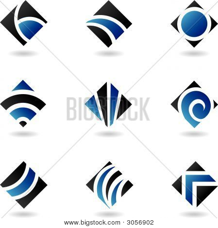 Blue Diamond-icons