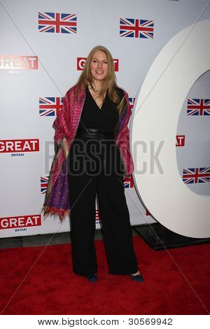 LOS ANGELES - FEB 24: Geraldine James arrives at the GREAT British Film Reception at the British Consul General�¢??s Residence on February 24, 2012 in Los Angeles, CA.