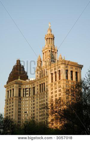 Art Deco Building In New York City