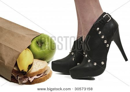 High Heels And Lunch