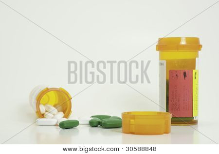 Prescription Pills And Lid