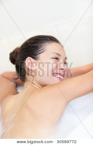 Woman In Bath