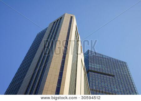 morden building in shanghai
