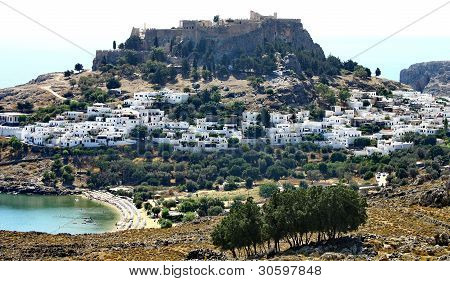 Ancient Greek Town Lindos