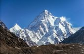 A Fascinating View Of The K2 Peak The 2nd Highest Peak In The World poster