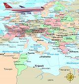 Travel Europe poster