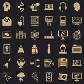 System Access Icons Set. Simple Set Of 36 System Access Vector Icons For Web For Any Design poster