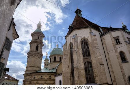 Domkirche or Grazer Dom. Graz, Austria